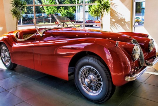 1954 Jaguar XK120 SE Roadster – Sold