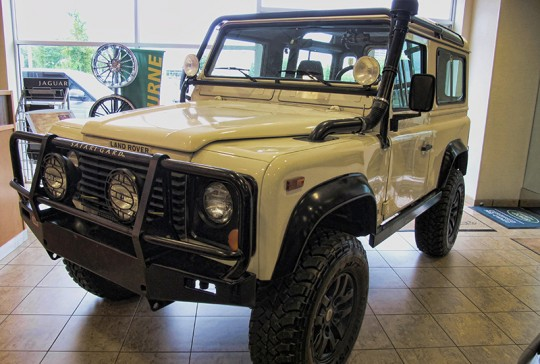 1997 Land Rover Defender 90: SOLD