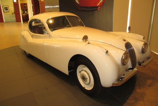 1952 Jaguar XK 120 Fixed Head Coupe