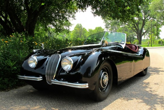1953 Jaguar XK120: SOLD