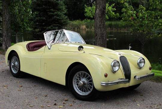1954 Jaguar XK120 SOLD