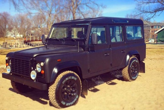 1988 Land Rover 4 Door Defender 110 SOLD
