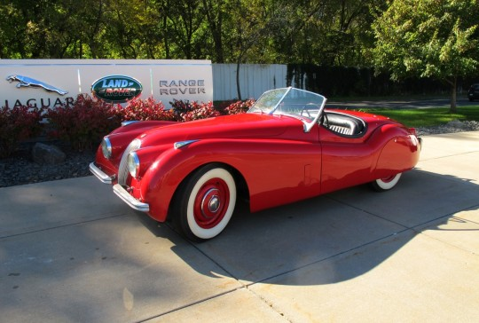 1952 Jaguar 120 Roadster SOLD