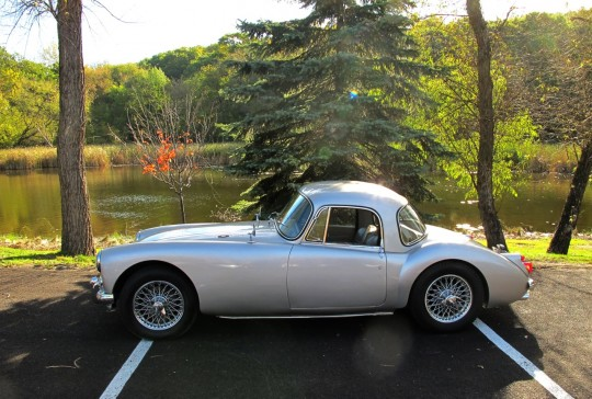 1960 MGA Coupe – SOLD