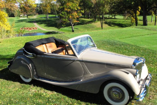 1951 Jaguar Mark V Drop Head Coupe – SOLD