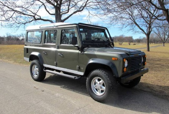 1997 Land Rover Defender 110 Station Wagon SOLD