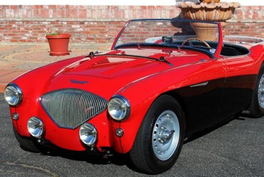 1956 Austin Healey 100/4 BN2 – SOLD