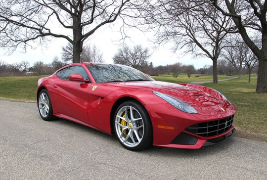 2014 Ferrari F12 Berlinetta: SOLD