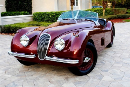 1954 Jaguar XK120SE OTS ROADSTER – SOLD