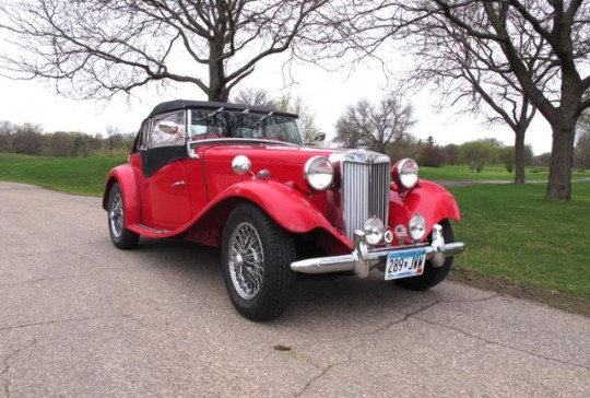 1953 MG TD Roadster – SOLD