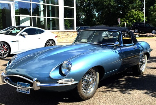 1967 Jaguar E-Type: SOLD