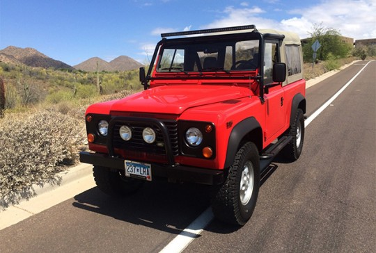 1997 Land Rover Defender 90 – SOLD