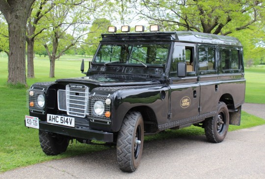 "1979 Land Rover Defender 110 ""Santana"" SOLD"