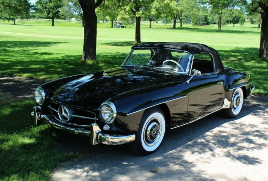 1960 Mercedes 190SL DESC REAL