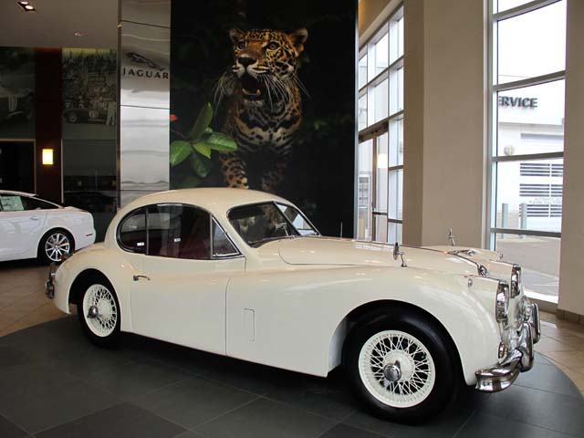 1957 jaguar xk140 mc fixed head coupe jlr classics
