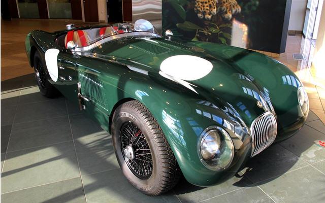 1953 Jaguar C Type Replica