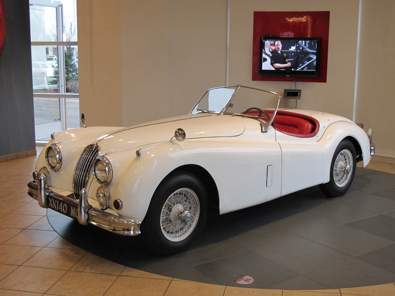1956 Jaguar Xk 140 Mc Roadster Jlr Classics
