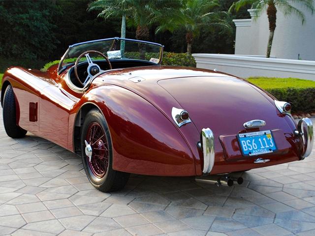 1954 Jaguar Xk120se Ots Roadster Sold Jlr Classics