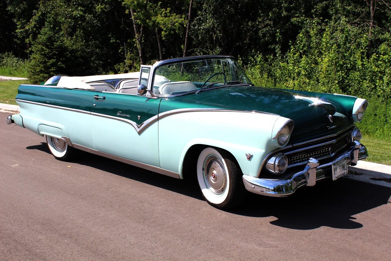 1955 Ford Fairlane Sunliner Sold Jlr Classics