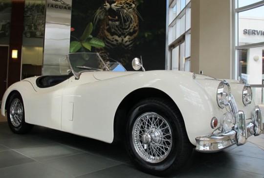 1955 Jaguar XK140: SOLD