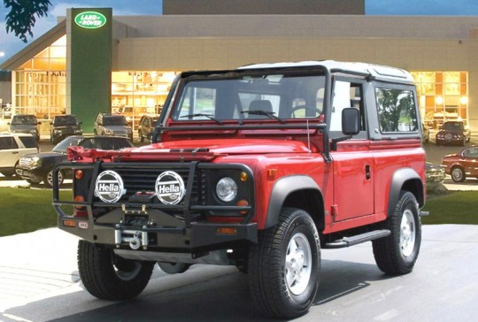 1995 AWD Land Rover Defender 90: SOLD