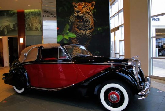 1951 Jaguar Mark V Drop Head Coupe: SOLD