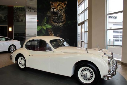 1957 Jaguar XK140 MC Fixed Head Coupe: SOLD