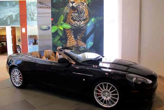 2007 Aston Martin DB9 Volante: SOLD