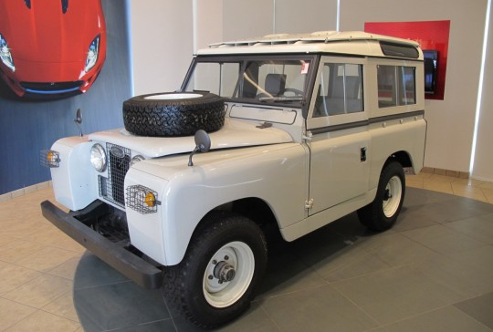 1962 Land Rover Defender Series ll: SOLD