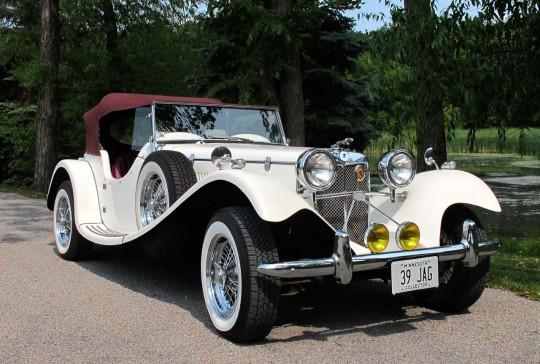 1939 Jaguar SS100 Replica: SOLD