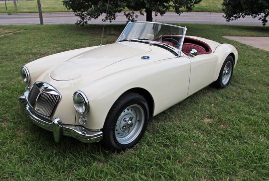 1959 MGA Convertible: SOLD