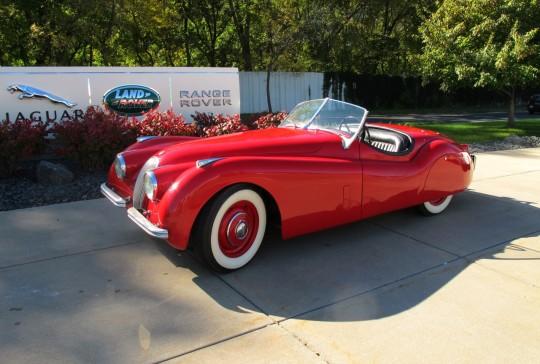 1952 Jaguar 120 Roadster: SOLD