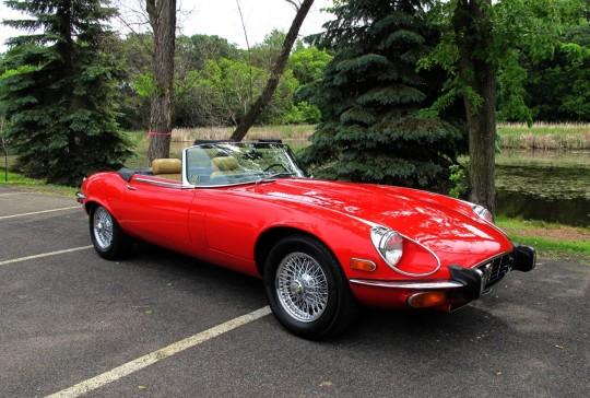 1973 Jaguar XKE: SOLD