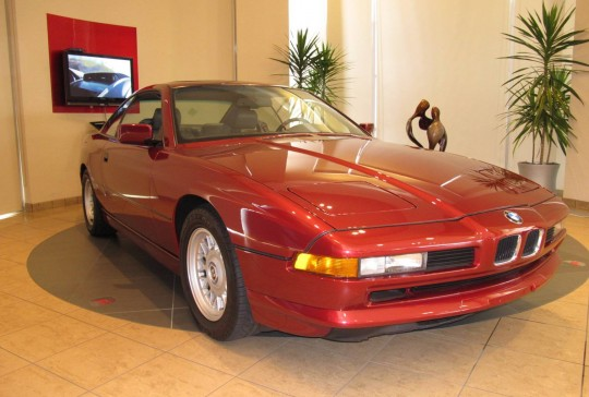 1991 BMW 850 Coupe: SOLD