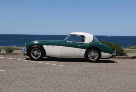 1961 Austin Healey MKII BN7: SOLD