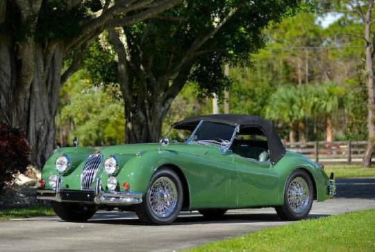 1955 Jaguar XK 140 M: SOLD