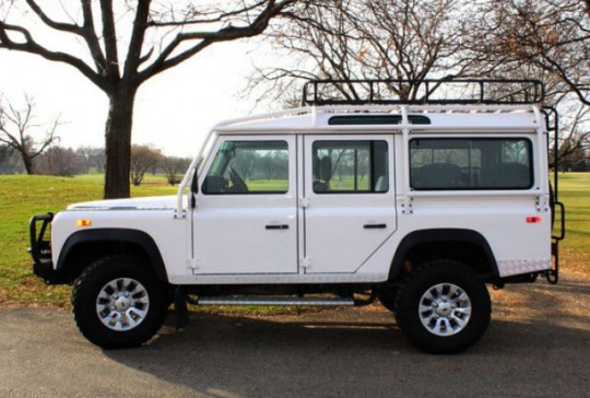 1993 Land Rover Defender 110 US Specifications: SOLD