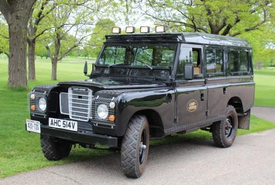 "1979 Land Rover Defender 110 ""Santana"": SOLD"