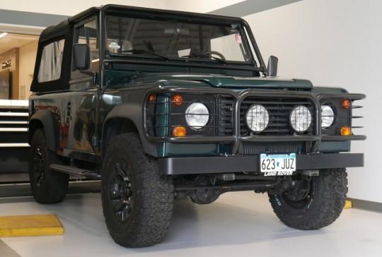 1997 Land Rover Defender 90: SOLD