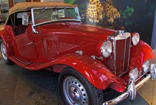 1953 MG TD: SOLD