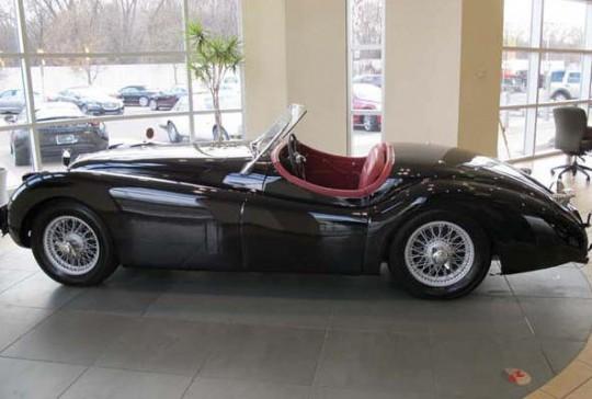 1954 Jaguar XK120 Drop Head Coupe: SOLD