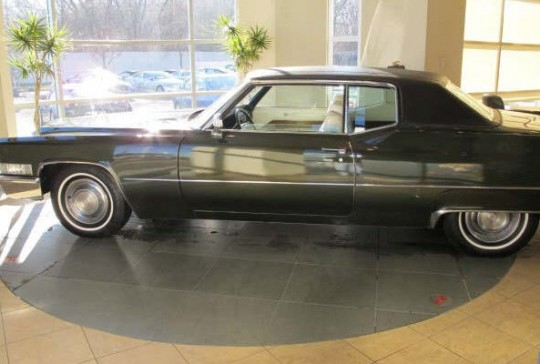 1969 Cadillac Coupe DeVille: SOLD