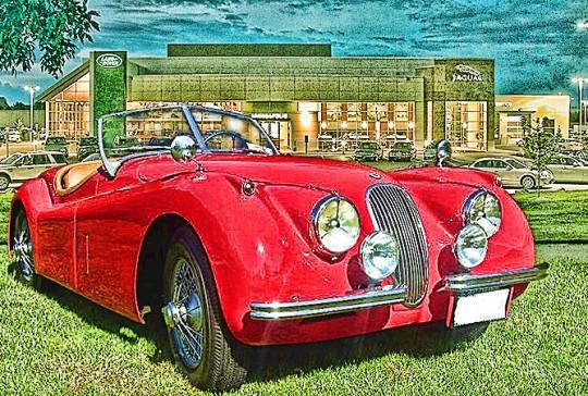 1954  Jaguar XK 120 SE Roadster: SOLD