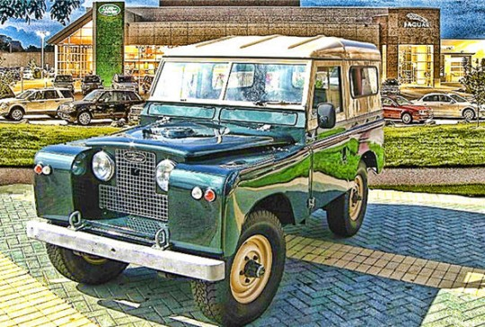 1965 Land Rover Series ii A 88: SOLD