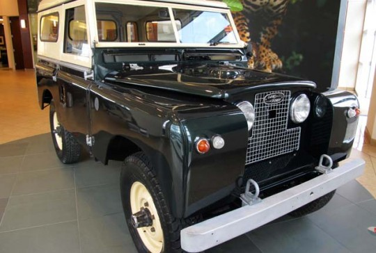 1965 Land Rover Series 2A: SOLD