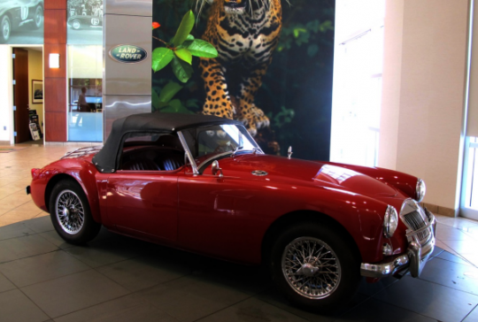 1958 MG-A: SOLD