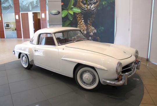 1962 Mercedes: SOLD