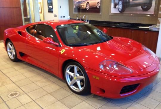 2000 Ferrari 360 Modena: SOLD