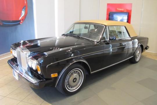 1991 Rolls Royce Cornische III: SOLD