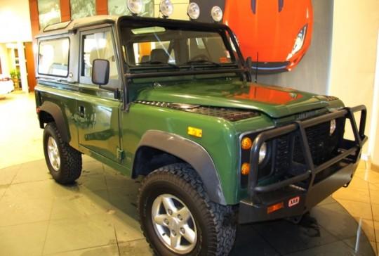 1994 Land Rover Defender 90: SOLD